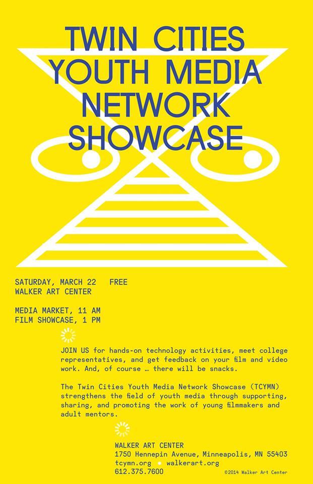 TCYMN 2014 showcase poster